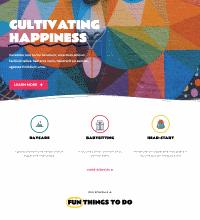 Chidcare creche web design