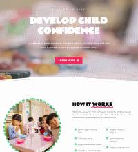 Childcare creche website design