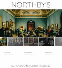 Gallery website design