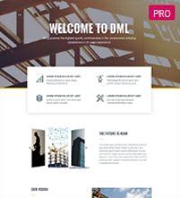 Construction - Builder web template