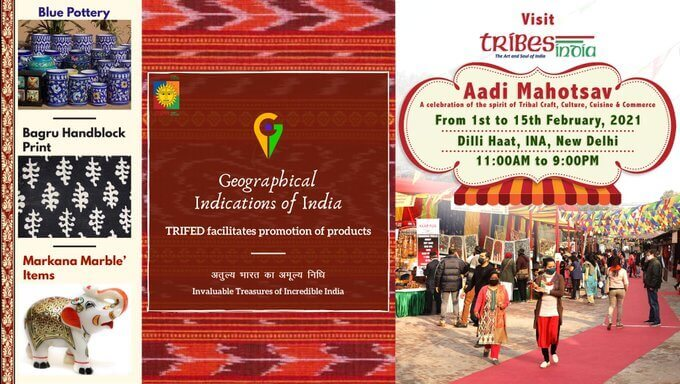 GI products get special focus in Tribes India Aadi Mahotsav