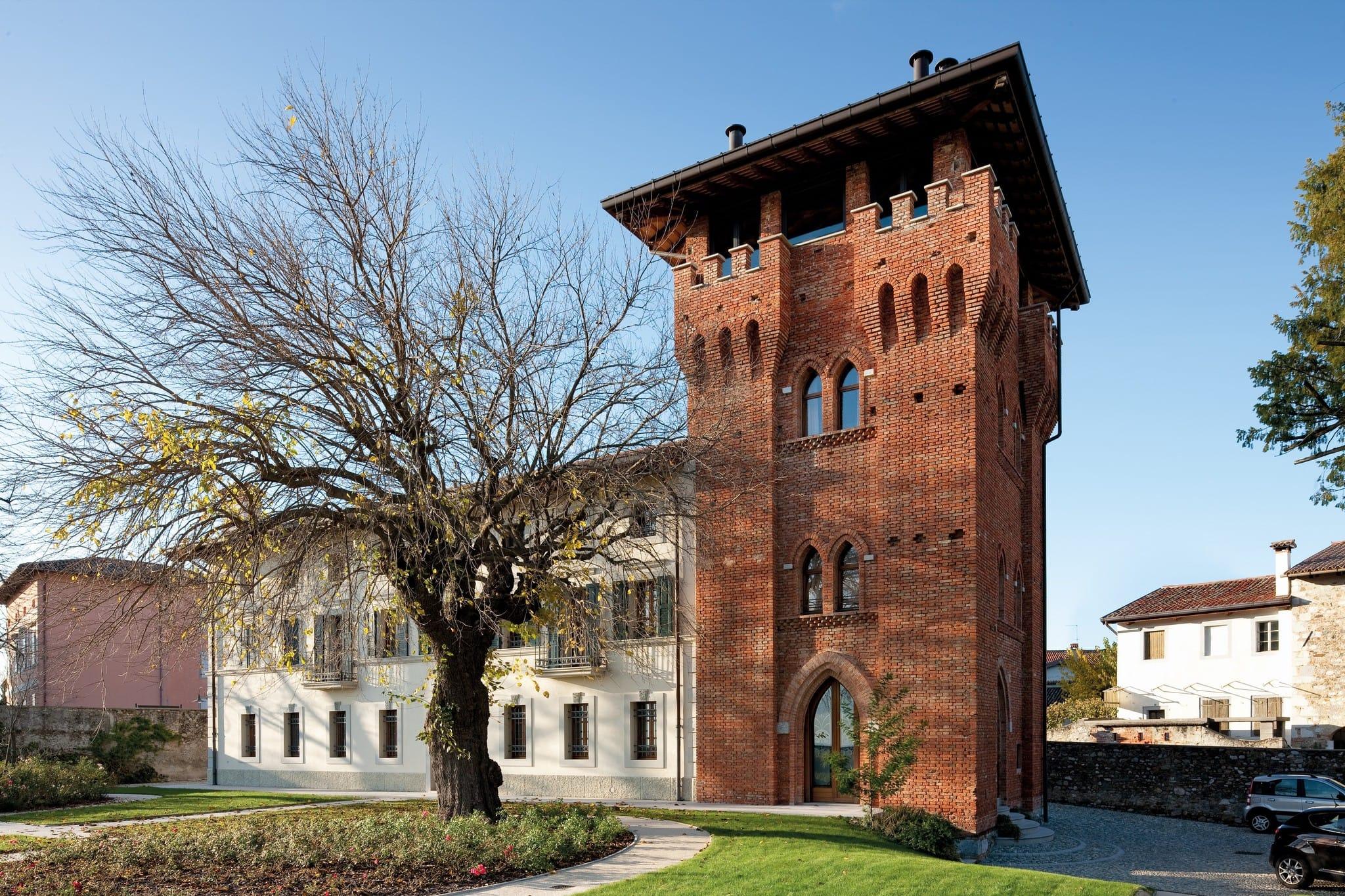 Il restauro di edifici antichi e opere di culto è il fiore all'occhiello dell'impresa Del Bianco costruzioni