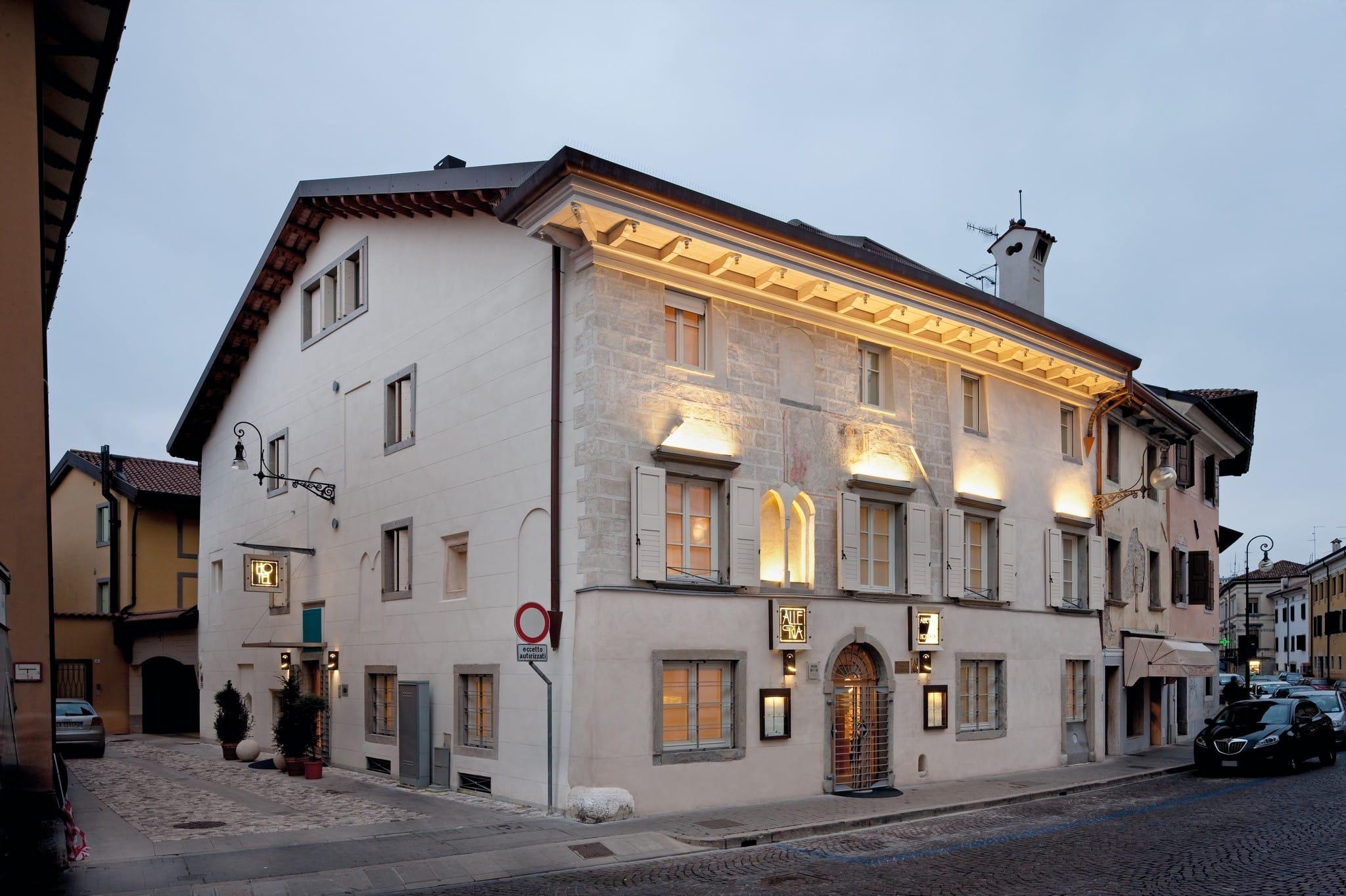 Un esempio di edilizia commerciale realizzato dall'Impresa Del Bianco di Udine
