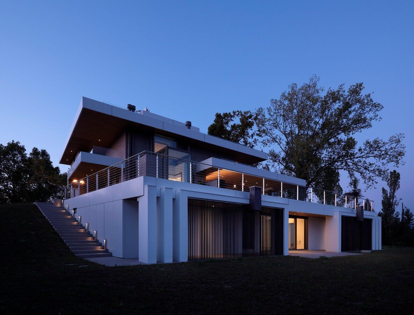 Una casa moderna ed efficiente costruita dall'impresa edile Del Bianco di Udine