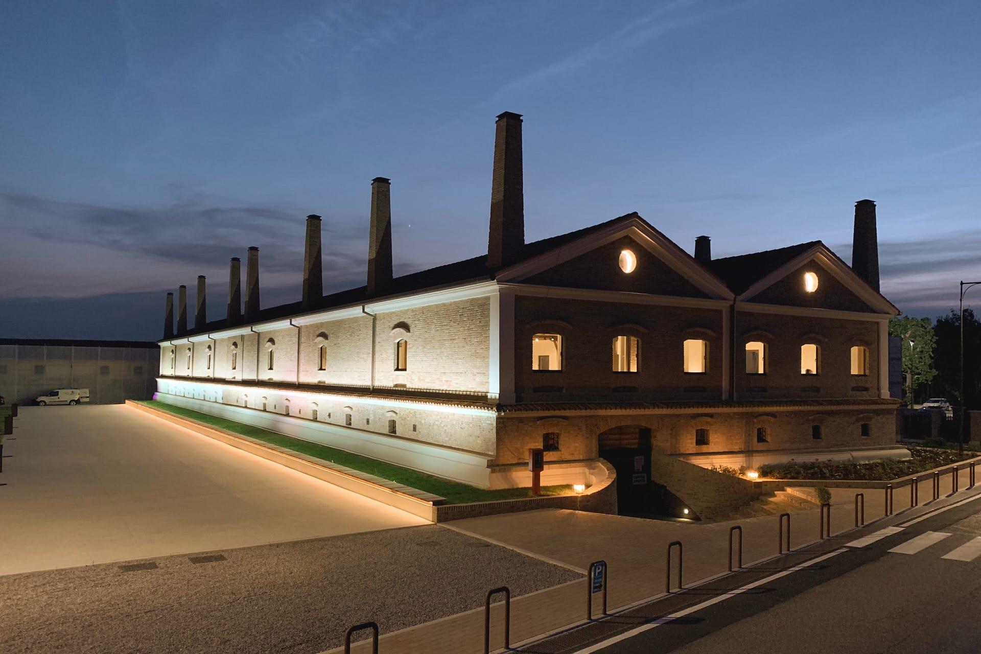 Un edificio industriale costruito dall'impresa Del Bianco di Udine