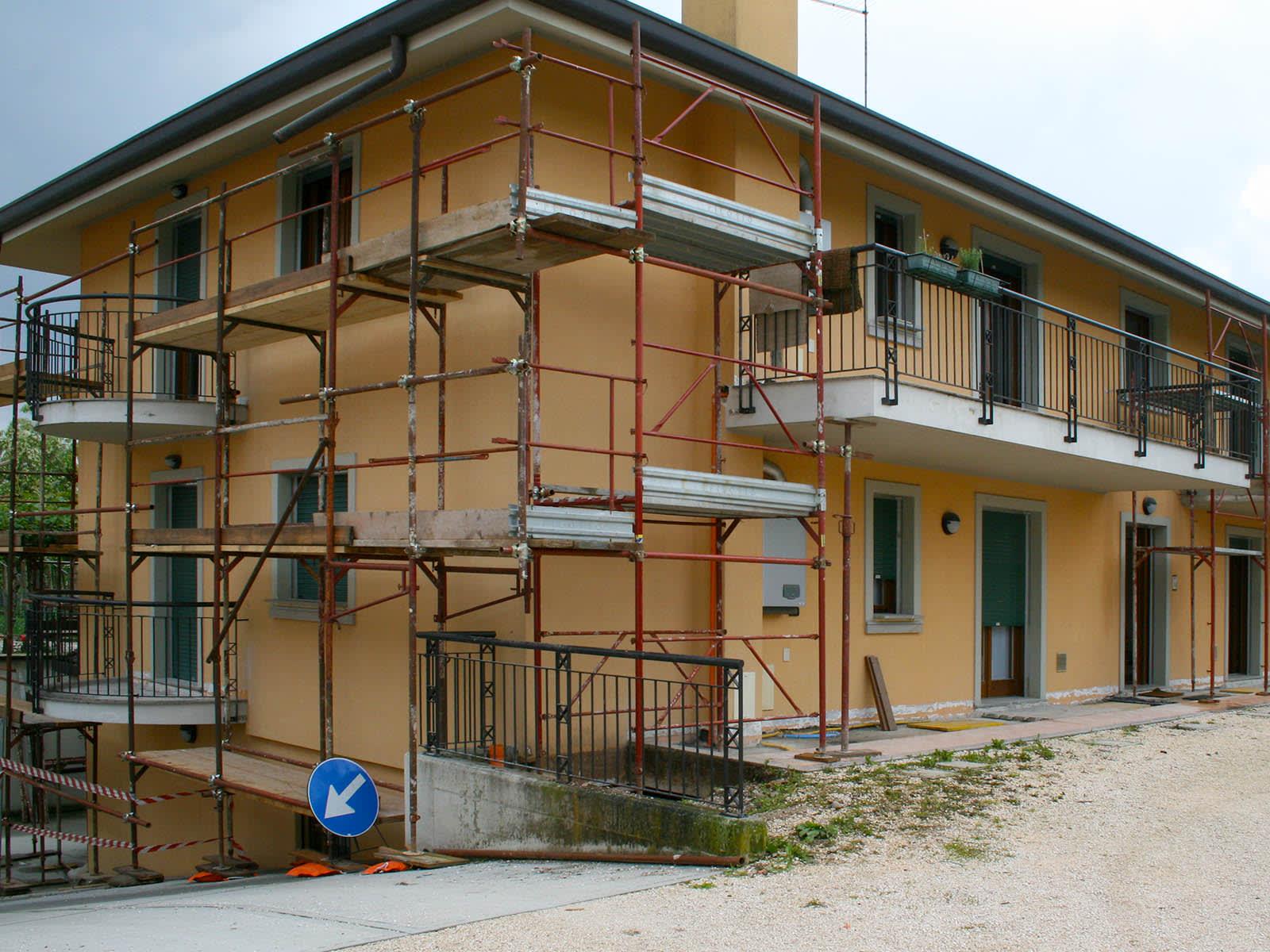 Ristrutturazione casa plurifamigliare Udine