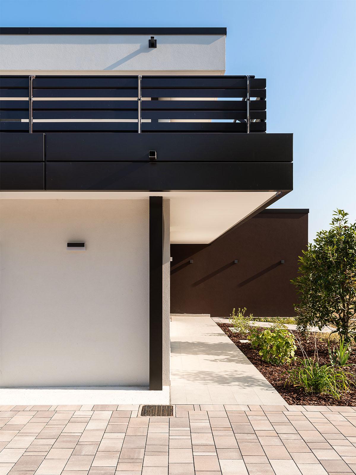 Costruzione nuova casa moderna