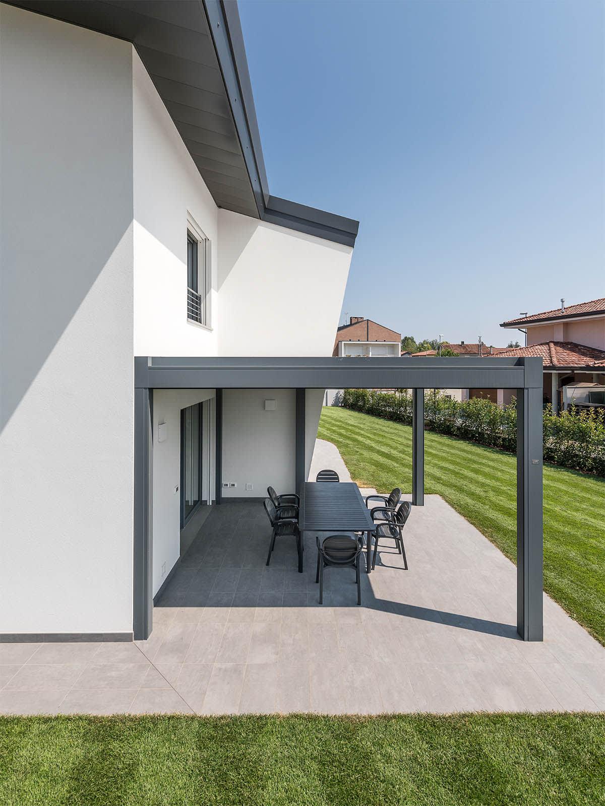 Villa moderna costruzione