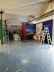 Stand Casa ecologica Impresa Rossi Fratelli Fiera Casa Moderna 2020