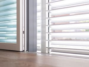 L'irraggiamento solare si può regolare per massimizzare il comfort.