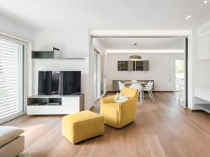 Interno di una casa che premia il design