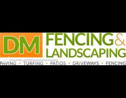 DM FENCING LANDSCAPING Logo
