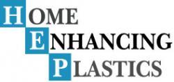 HOME ENHANCING PLASTICS logo
