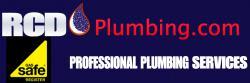 RCD PLUMBING Logo