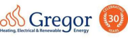 Gregor Heating, Electrical and Renewable Energy Logo