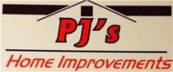 P J TREE SURGEONS logo