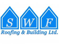 SWF ROOFING AND BUILDING logo