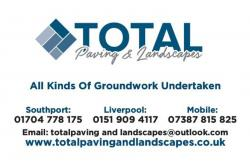 TOTAL PAVING AND LANDSCAPES Logo