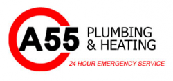 A55 Plumbing And Heating logo