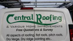 CENTRAL ROOFING logo