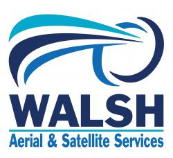WALSH AERIAL & SATELLITE SERVICES Logo