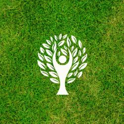 The Green Giant Grounds Maintenance  Logo