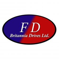F D BRITANNIA DRIVES logo