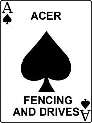 Acer Fencing & Drives Logo