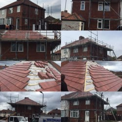 Full new roof and facia and guttering