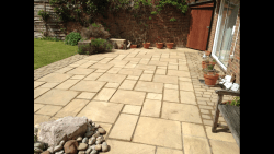 After cleaning and repointing