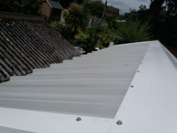 New roofs come with all new flashings