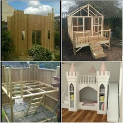 Childrens outdoor playhouses