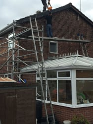 Can  supply  scaffold towers for over conservatorys