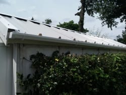 New roofs come with necessary rainwater goods