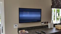 flat tv fit