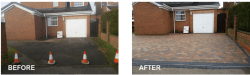 Tegula Paving available in various colours