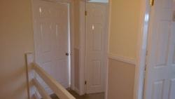 top of hallway