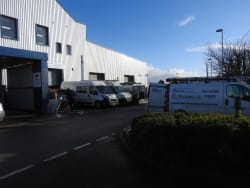 Rodda and hocking Distribution centre in Camborne
