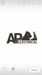 A P ELECTRICAL Logo