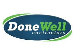 Done Well Contractors Logo