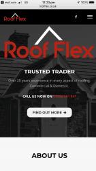 Roof^flex Logo