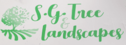 S G TREE AND LANDSCAPES logo