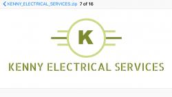 K.E.S Electricians Logo