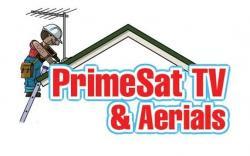 PRIMESAT TV  &  AERIALS Logo