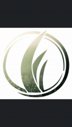 Grass scape logo