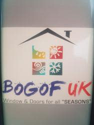Bogof uk windows and doors logo