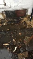 Leaking box gutters