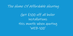 Call and Quote Web 100 and receive £100.00 off your final quote