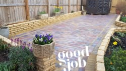 Ranges of nice beautiful patios and driveways