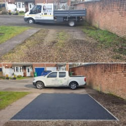TARMACADAM DRIVEWAY also available in red